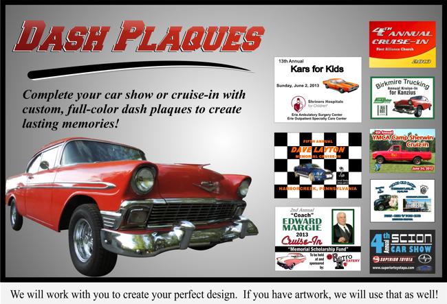 Dash Plaques